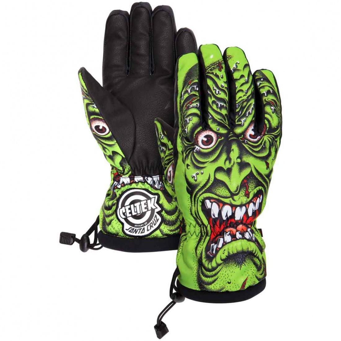 Перчатки Celtek Bitten by a Glove Roskopp M