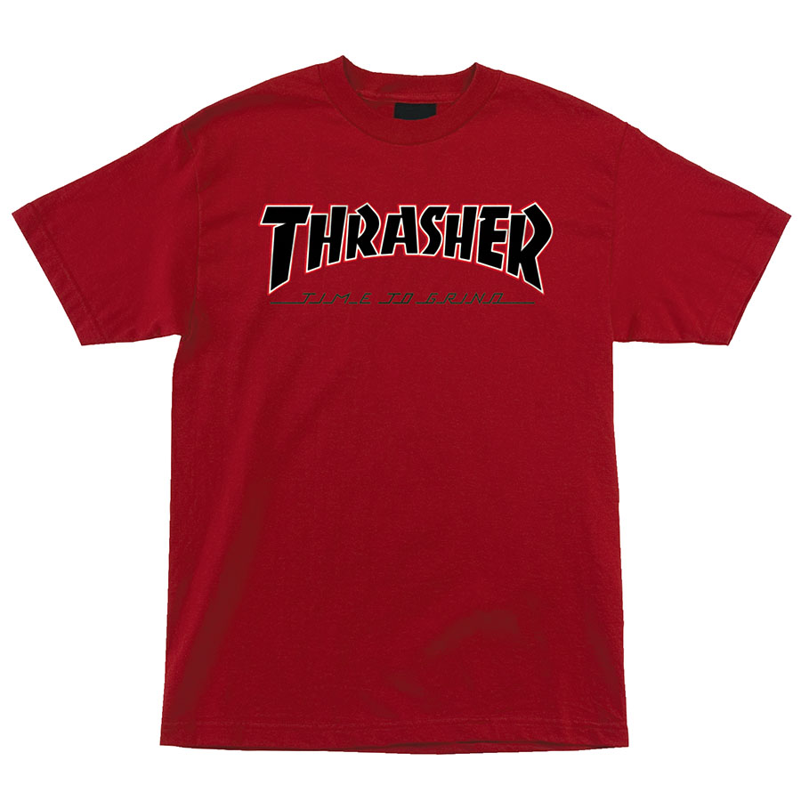 Футболка Independent x Thrasher TTG S/S Regular Красная