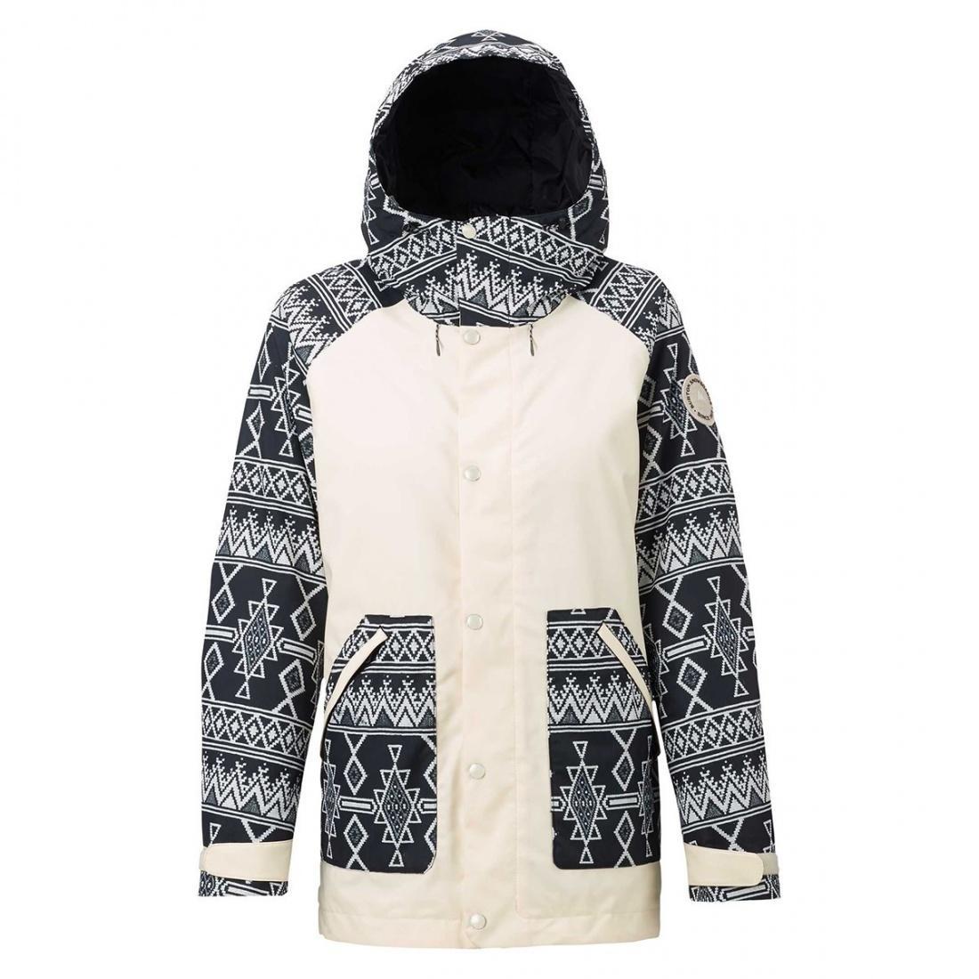 Куртка для сноуборда Burton Eastfall CANVAS/BLKMOJ, , , FW18 S