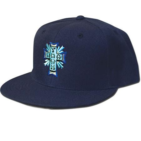 Кепка Cross Logo Color Embroidered Snapback Синяя