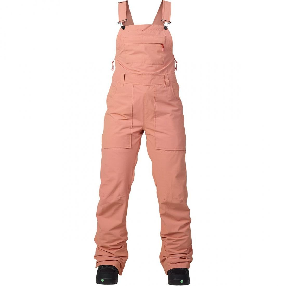 Штаны для сноуборда Burton Avalon Bib DUSTY ROSE WASHED XS