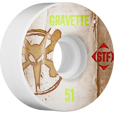 Колеса для скейтборда Bones Gravette Vintage  51 мм