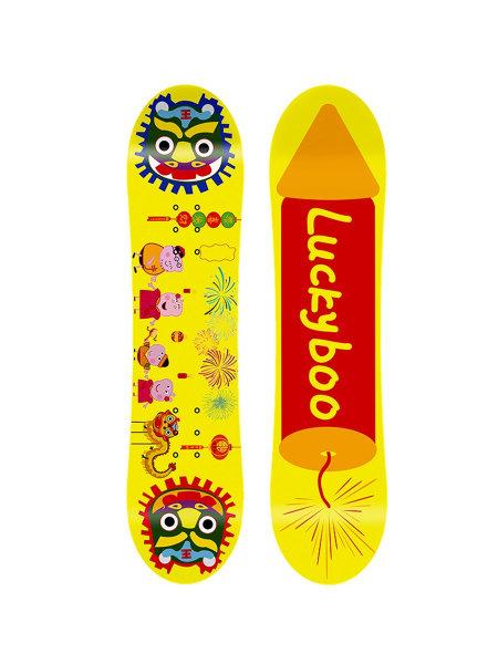 Детский сноуборд Lucky BOO New Year