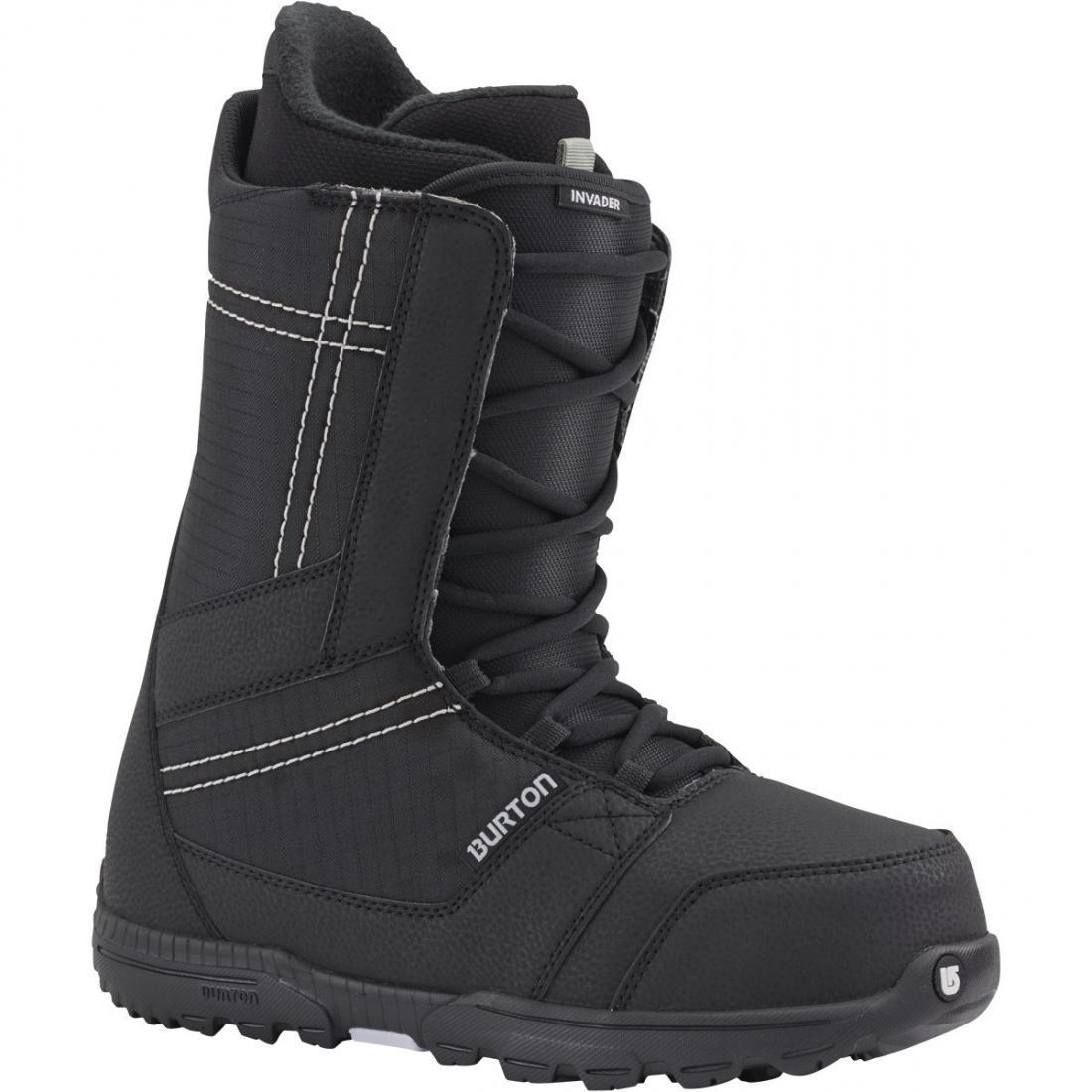 Ботинки для сноуборда Burton Invader Black/Cyan 10