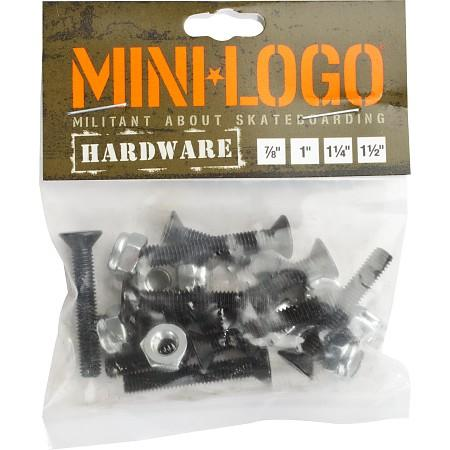 Крепеж Mini Logo Single Pack - 1 1/2 Черный