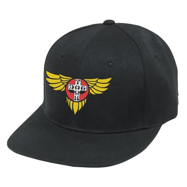 Кепка Hat Snapback Wings Embroidered Черная