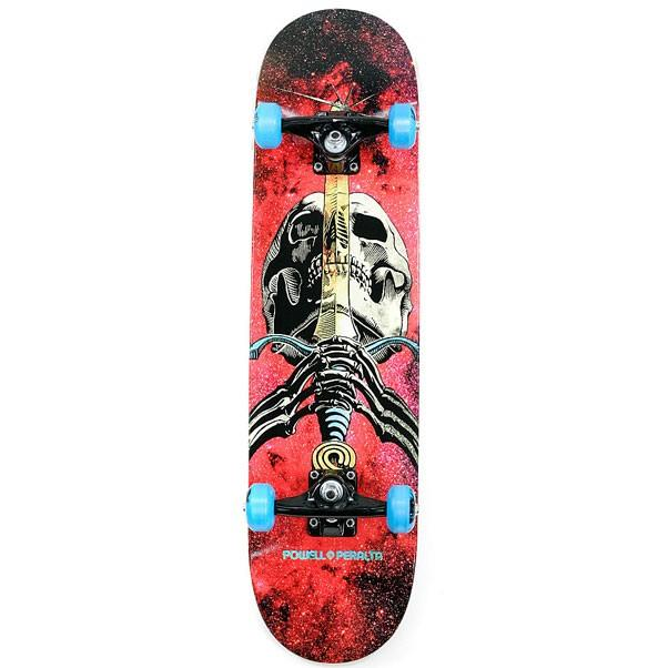 Скейтборд в сборе PP Skull & Sword Cosmic Green 7.5