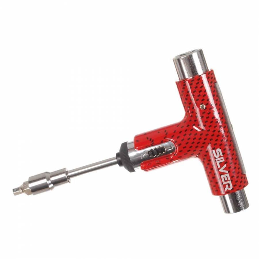 Ключ Boardshop Silver Tool Black/Red