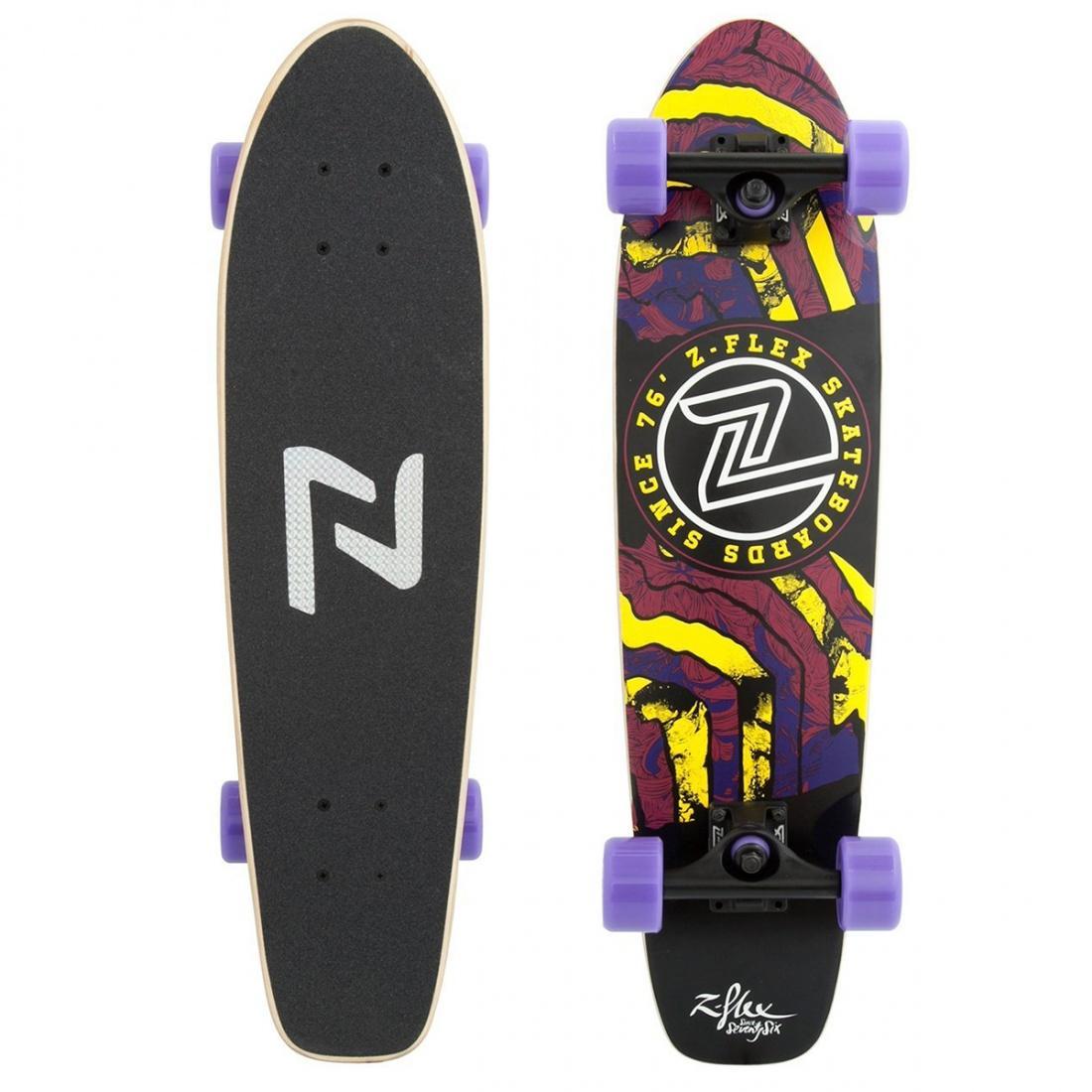 Комплект лонгборд Z-FLEX DELERIUM CRUISER Purple