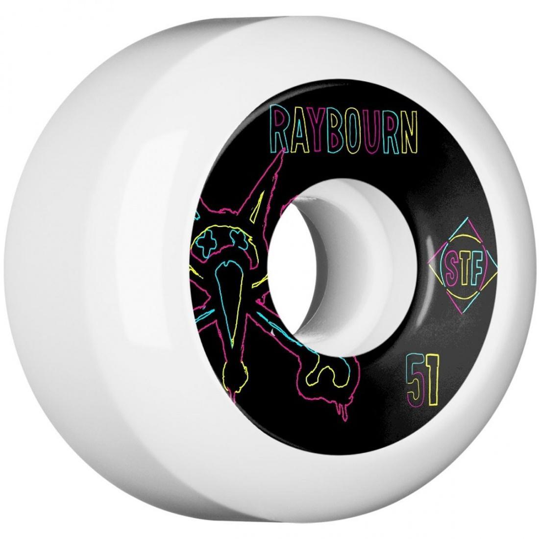 Колеса для скейтборда Bones Raybourn Neon