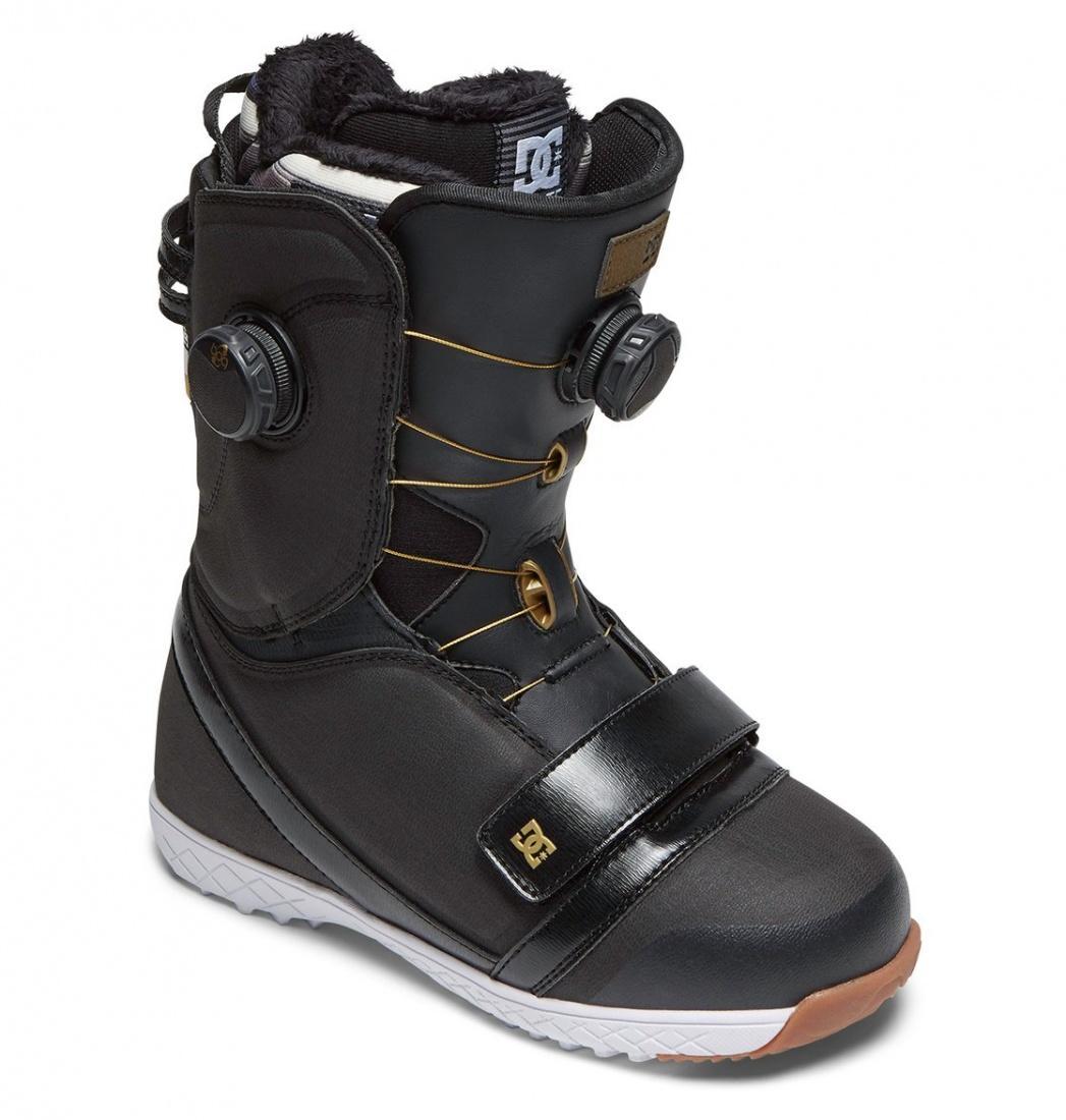 Ботинки для сноуборда DC shoes Mora BLACK/GOLD 7
