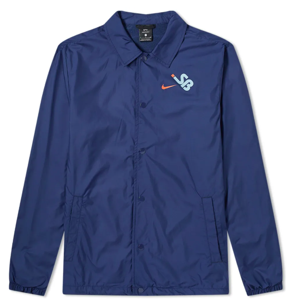 Куртка M NK SB SSNL COACHES JACKET Синяя
