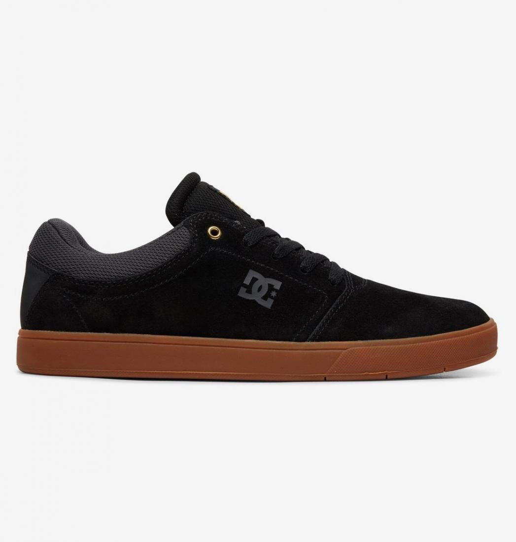 Кеды DC shoes Crisis BLACK/GREY/BLACK US 7.5