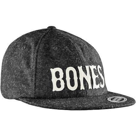 Бейсболка BONES WHEELS Cap Strapback Wooly (, Black, , )