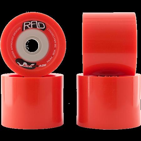 Колеса для скейтборда RAD Wheels RED 72 мм