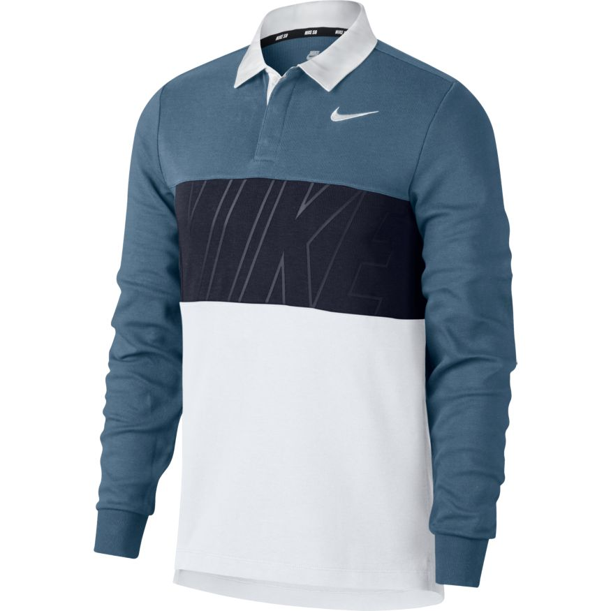 Рубашка - Поло M NK SB DRY TOP POLO Синяя